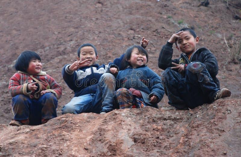 dzieci chińscy obrazy stock