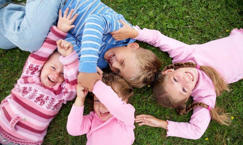 dzieci figlarnie obraz royalty free