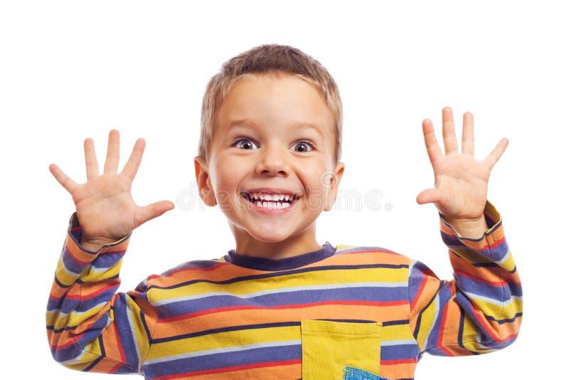 dzieci ja target892_0_ mały fotografia stock