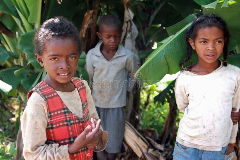 dzieci Madagascar zdjęcia royalty free
