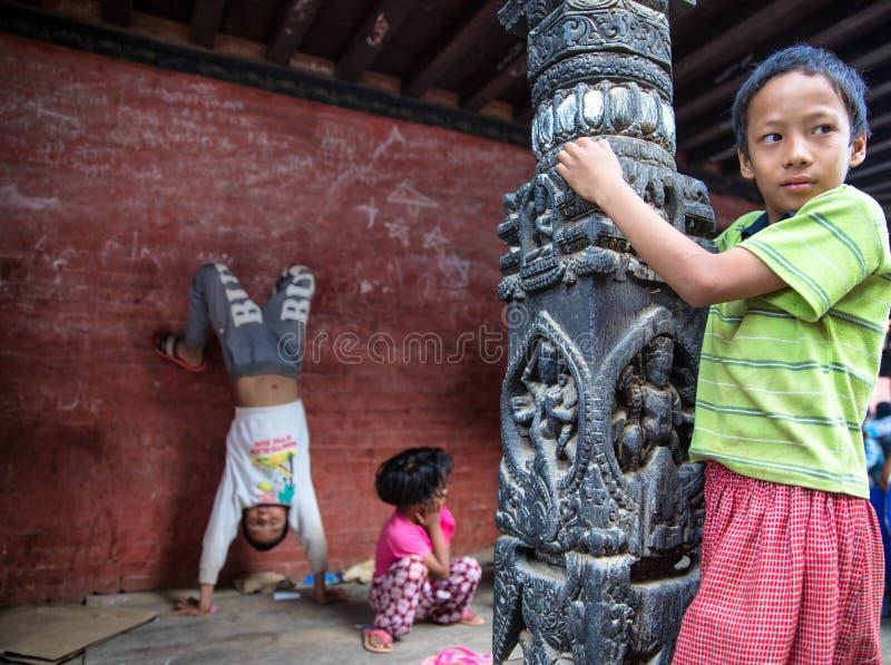 Dzieci Nepal obraz stock