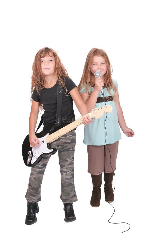 dzieci rockstar dwa fotografia royalty free