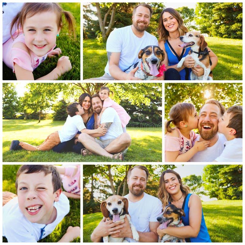 dzieci rodzin rodzinny szczęśliwy wiele mój portfolio dwa obrazy stock