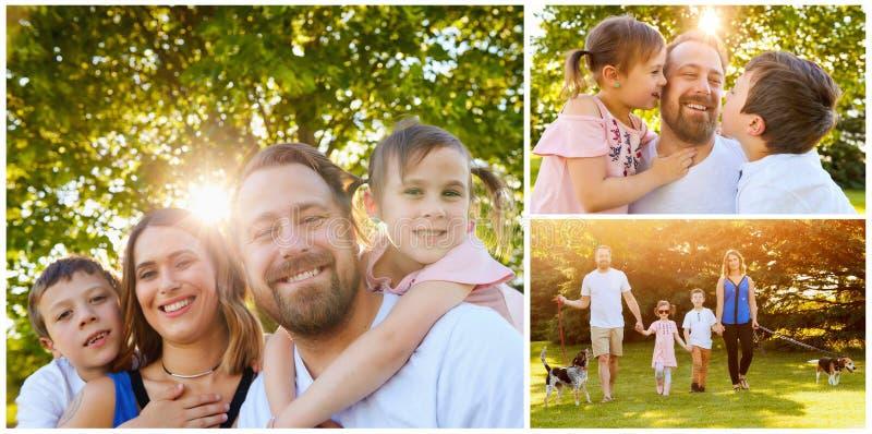 dzieci rodzin rodzinny szczęśliwy wiele mój portfolio dwa fotografia stock