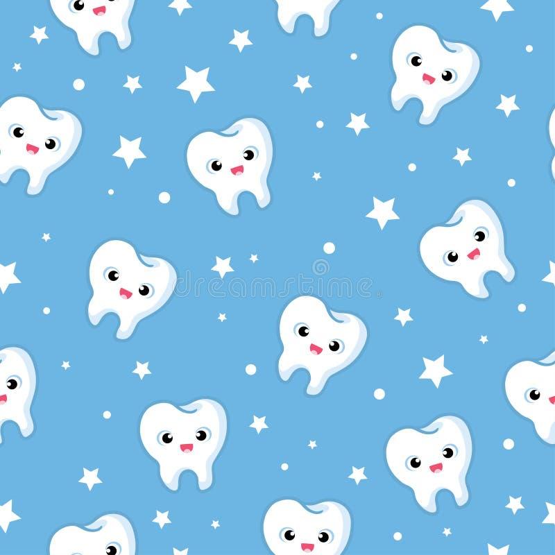 Dzieci s ilustracja na temacie dentystyka ilustracja wektor
