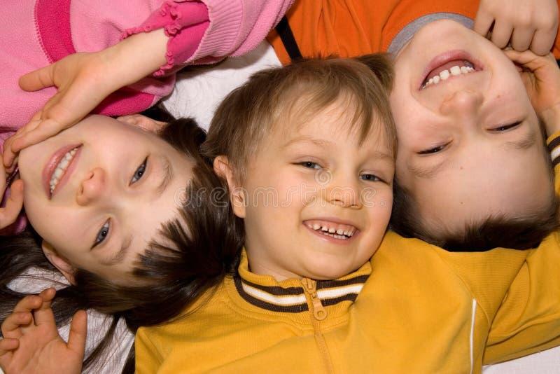 dzieci się uśmiecha fotografia stock