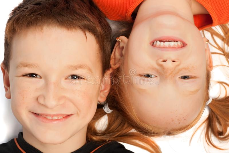 dzieci szczęśliwi obraz royalty free
