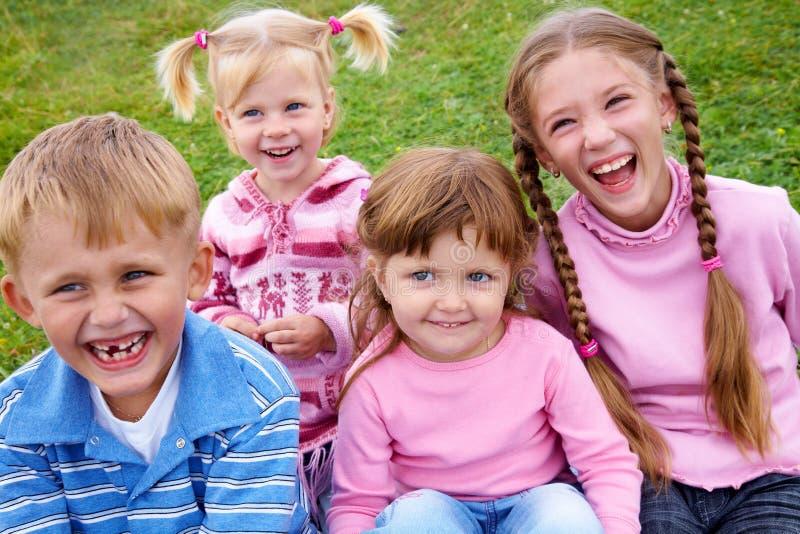 dzieci szczęśliwi obrazy stock