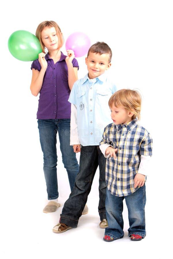dzieci szczęśliwi obraz stock