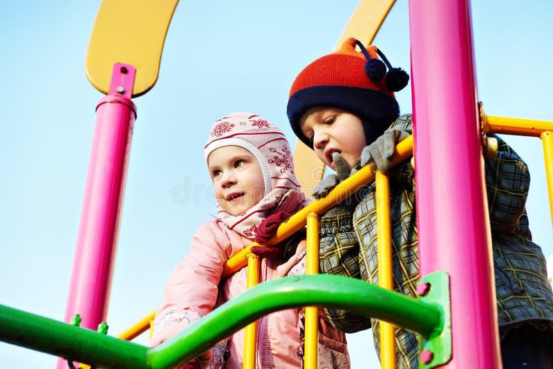 dzieci sztuka boisko zdjęcie stock