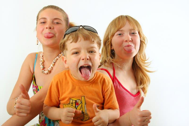 dzieci target842_0_ zdjęcia royalty free