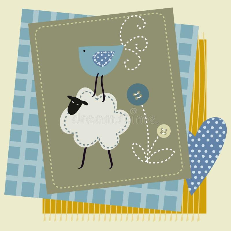 Download Dzieci, Zwierzęta, śmieszny Patchwork Ilustracji - Ilustracja złożonej z mozaika, wzór: 57671390
