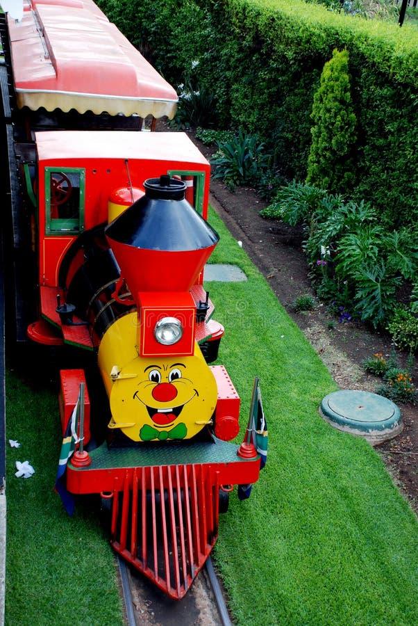 dzieciaków przejażdżki pociąg fotografia royalty free