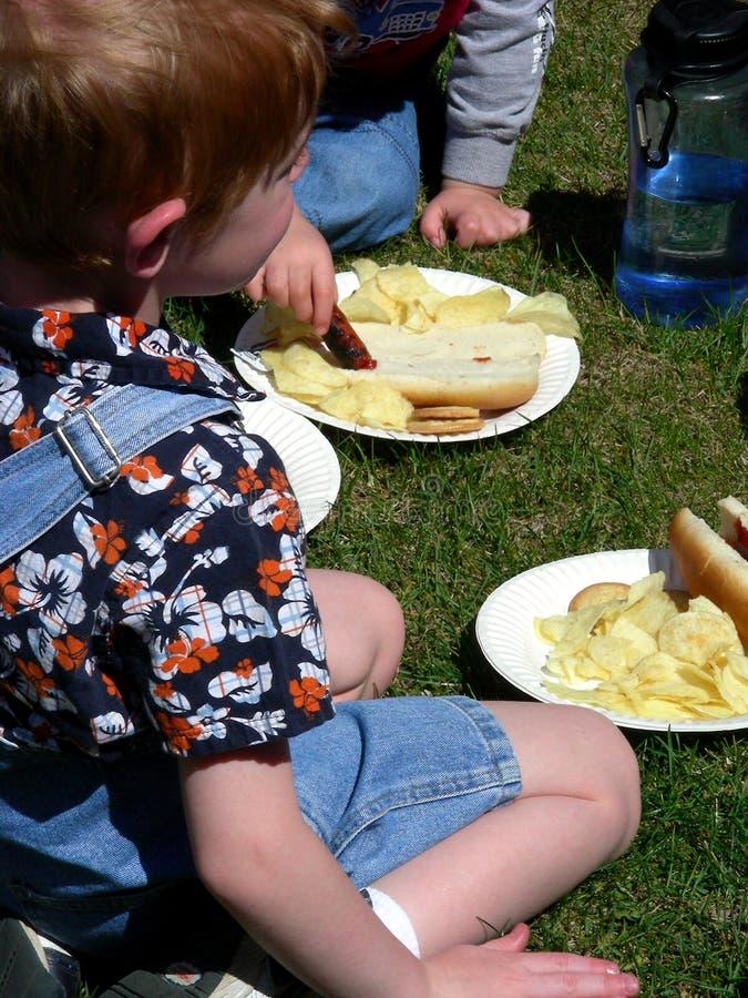 dzieciak żywności zdjęcie stock