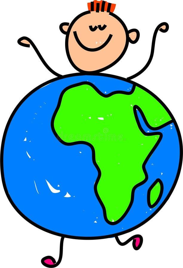 dzieciak afrykańskiej royalty ilustracja