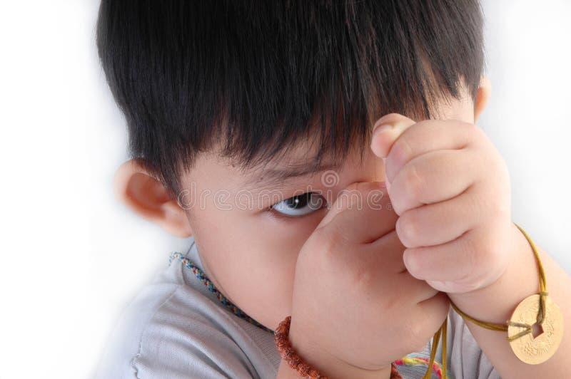 dzieciak azjatykci fotografia royalty free