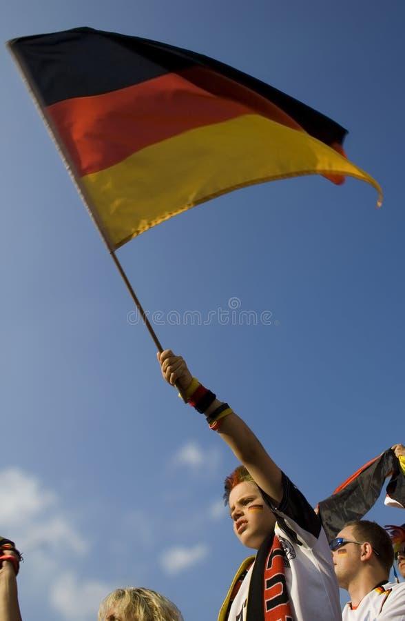 dzieciak bandery obrazy stock
