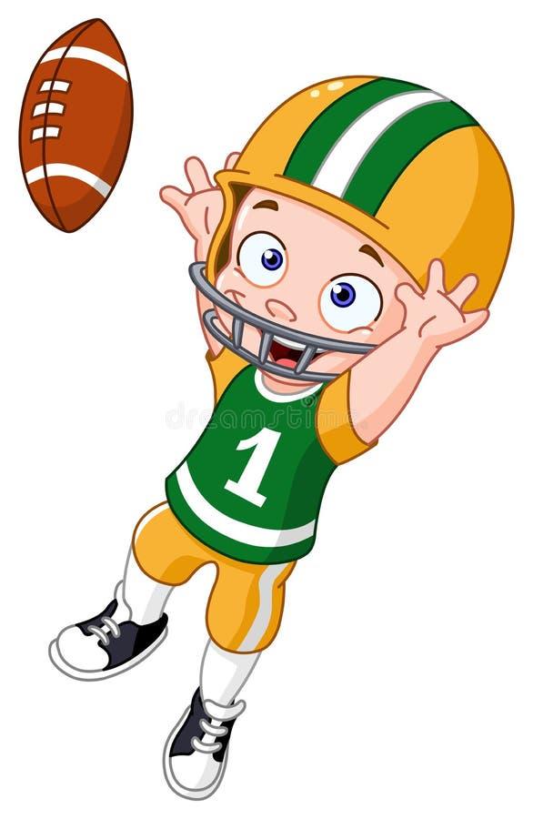 Futbolowy dzieciak ilustracji