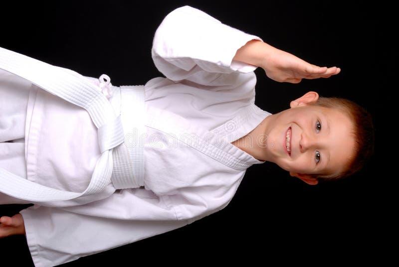 dzieciak karate. zdjęcia royalty free