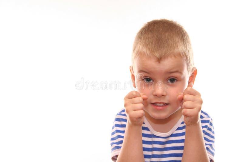dzieciak myśliwca obrazy royalty free