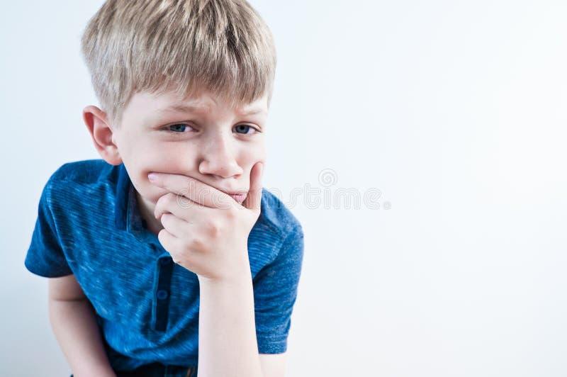 dzieciak okaleczający obrazy stock