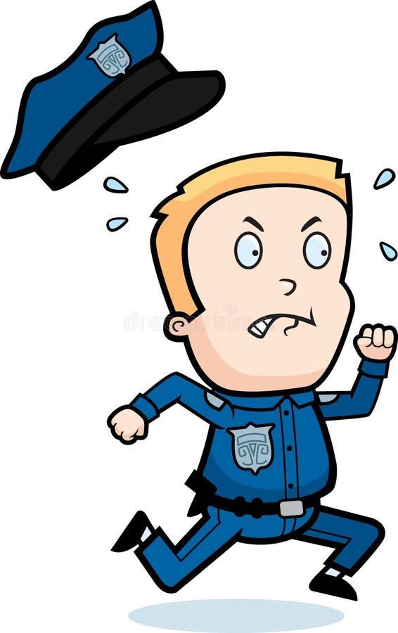 dzieciak policja ilustracja wektor