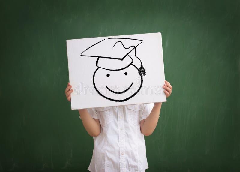 Dzieciaka absolwent zdjęcie royalty free