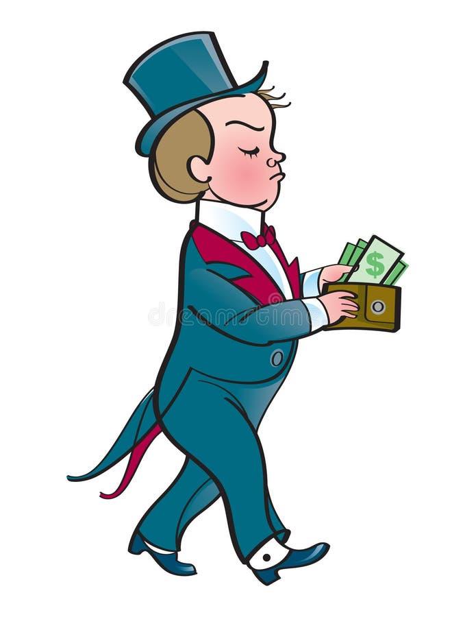 dzieciaka bogactwo royalty ilustracja