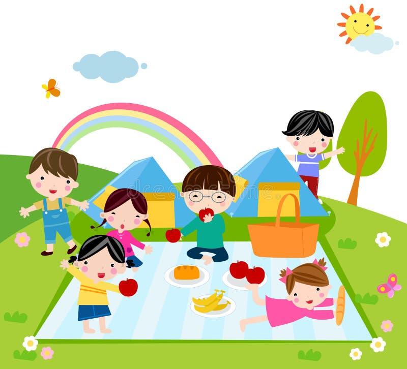 Dzieciaka Czas royalty ilustracja