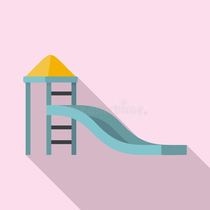 Dzieciaka obruszenia ikona, mieszkanie styl royalty ilustracja