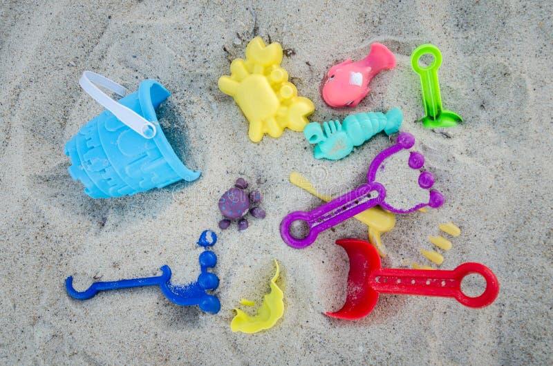Dzieciaka piasek Bawić się wyposażenie fotografia stock
