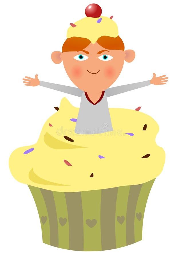 Dzieciaka Tort royalty ilustracja
