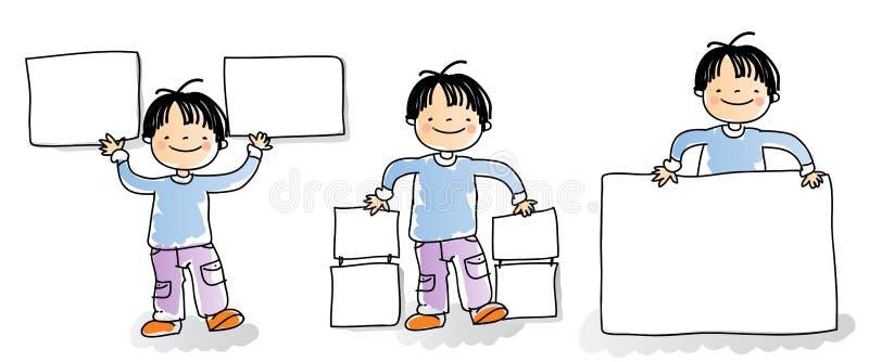 dzieciaka znak royalty ilustracja