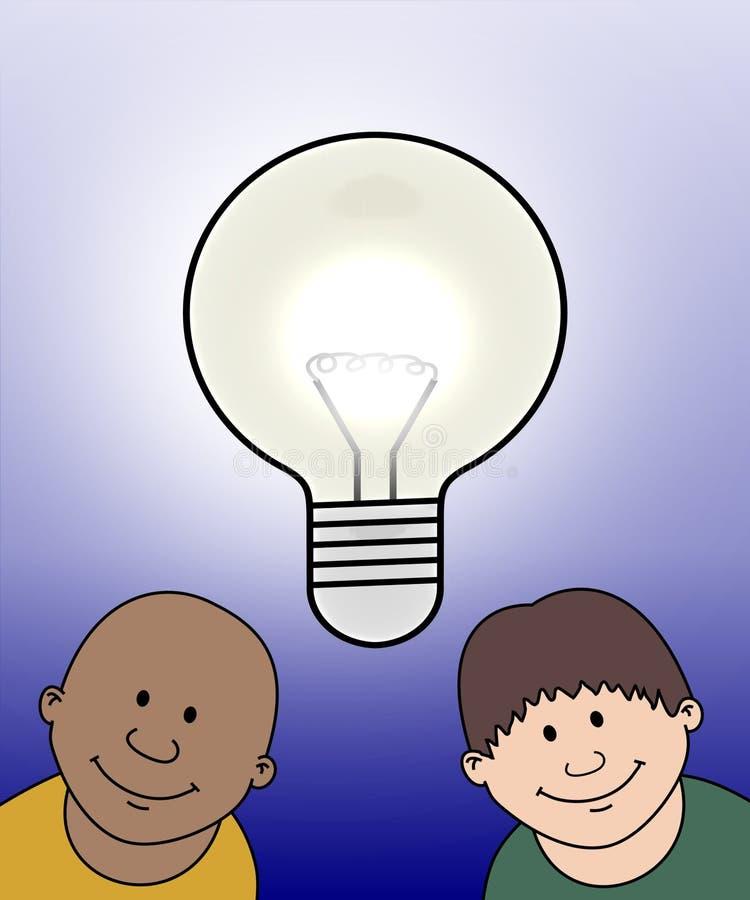 dzieciaki pomysłów, royalty ilustracja