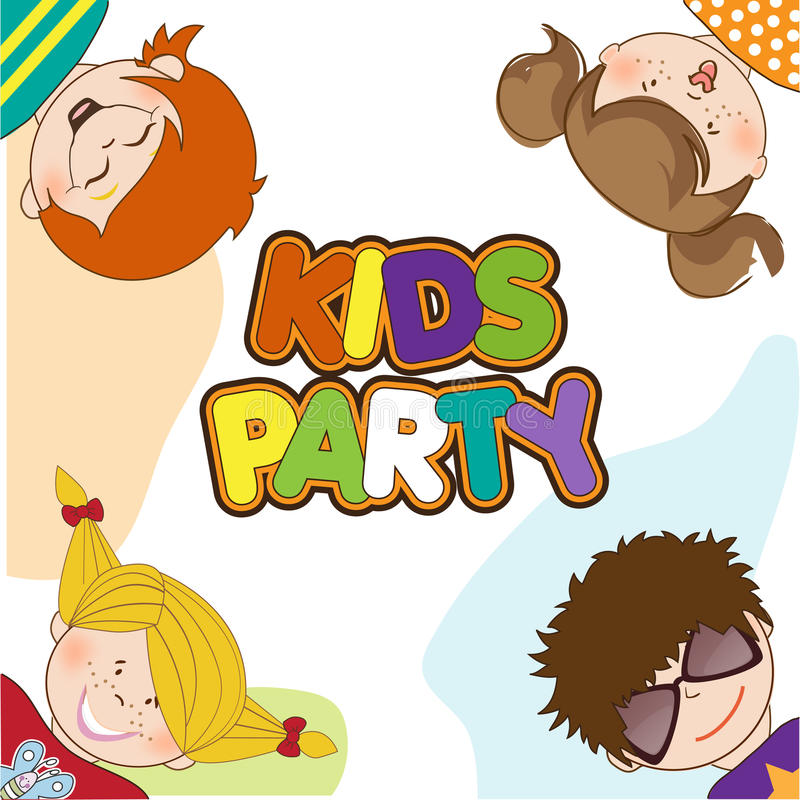 Download Dzieciaki Target411_1_ Przyjęcia Urodzinowego Ilustracji - Obraz: 20665229