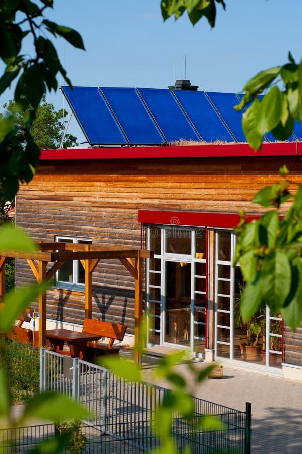 dziecina panel dach słoneczny obraz stock