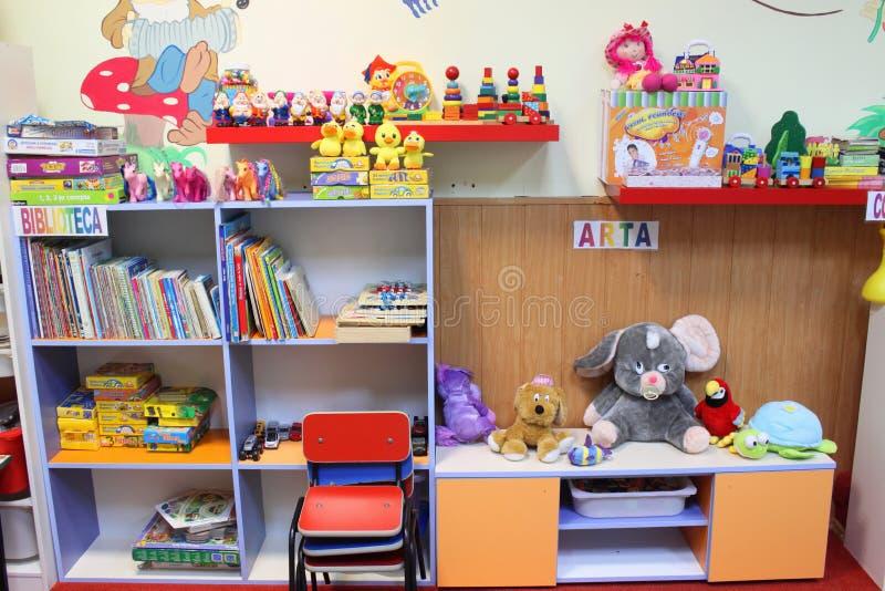 Dzieciniec sala lekcyjna obraz stock