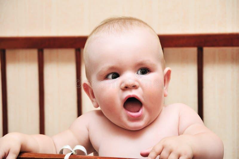 dziecka śmieszny zły ona zdjęcia royalty free