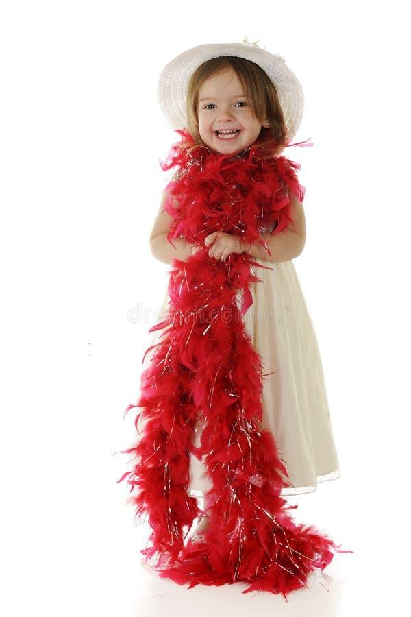 dziecka boa czerwień obraz stock