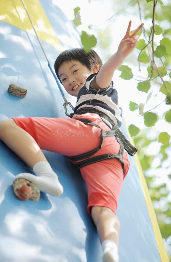 dziecka chiński gemowy ręki sztuka zwycięstwo zdjęcie royalty free