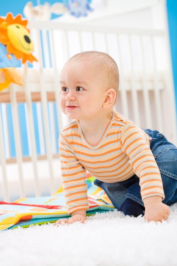 dziecka domu bawić się zdjęcie stock