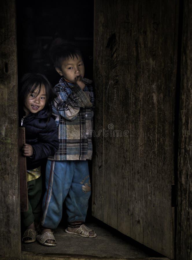 Dziecka drzwi fotografia stock