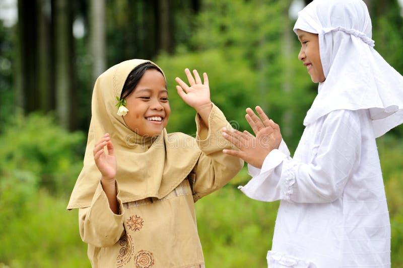 dziecka figlarnie szczęśliwy fotografia stock