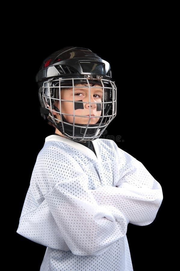 dziecka gracz w hokeja obraz royalty free
