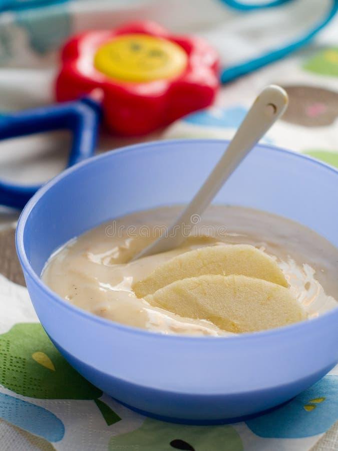 Dziecka jedzenie zdjęcia stock