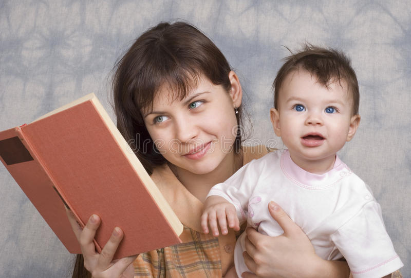 dziecka kobiety potomstwa obraz stock
