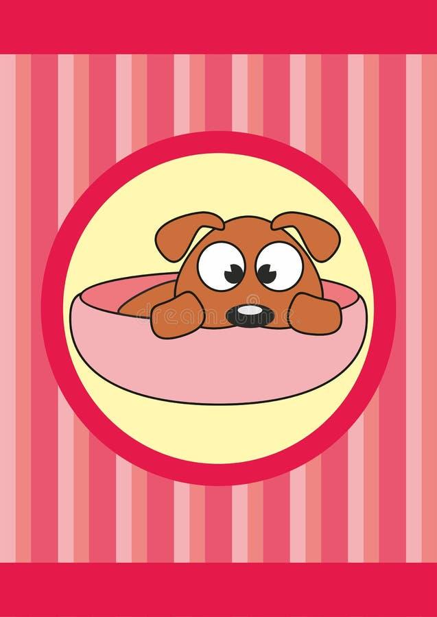 dziecka kreskówki filiżanki psa zwierzę domowe fotografia stock