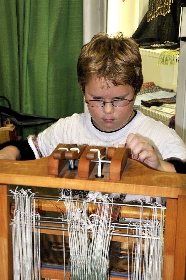 dziecka krosienka używać obraz stock