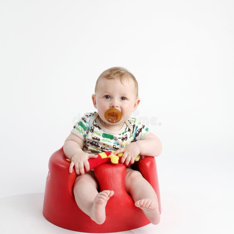 dziecka krzesła cosy siedzący obraz stock