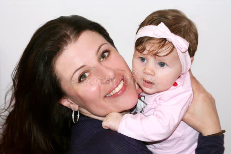 dziecka mały macierzysty zdjęcie royalty free